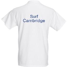 Surf Cambridge T-shirt back